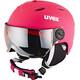 UVEX Junior Visor Pro Hjelm Børn pink
